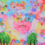 【作品紹介】魔法のような色彩の表現『温柔~ぬくもり~』