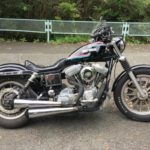 【8月19日】バイクの日に見つけたマーブル模様の丸いやつ