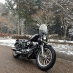 【ドキドキ】ちょこっと丹波へ雪見ツーリング