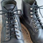 【レッドウイング】靴ひも(シューレース)の先のほつれを修理してみた