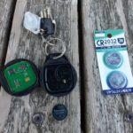 【ハーレー】キーフォブの電池交換をする方法
