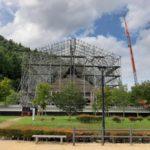 かやぶき民家の葺き替え工事と多紀連山県立自然公園