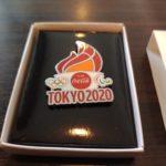 【聖火】東京2020記念ピンが届いたよ♪